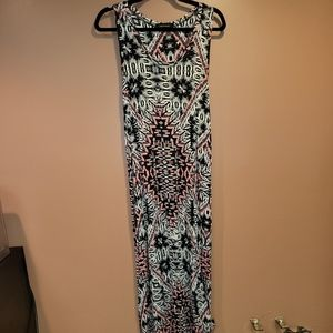 Hourglass Lilly maxi dress size Medium